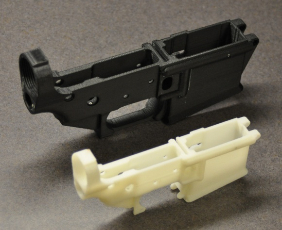3d Printed Firearm lower receiver