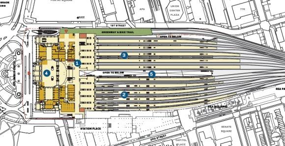 Washington Dc Union Station Master Plan Just Urbanism