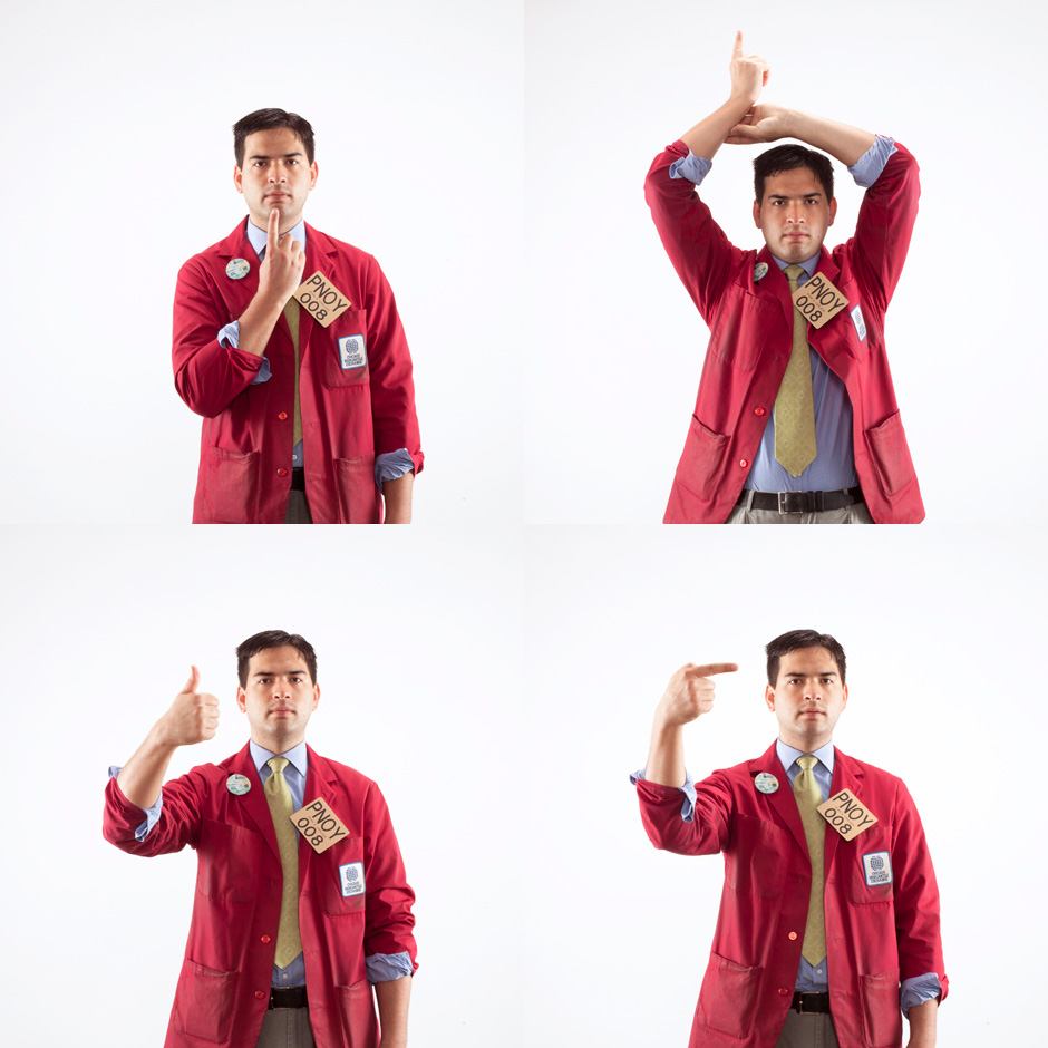 Ryan Carlson Trading Pit Hand Signals
